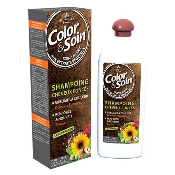Les 3 Chenes Les 3 Chênes Shampooing Cheveux Foncés 250ml
