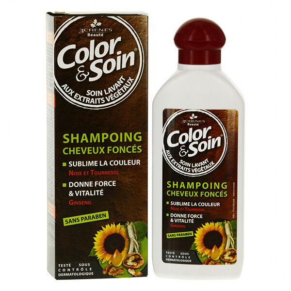 Les 3 Chênes Shampooing Cheveux Foncés 250ml