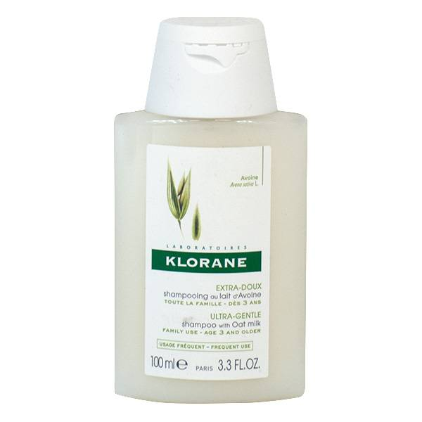 Klorane Lait d'Avoine Shampooing Extra-Doux 100ml