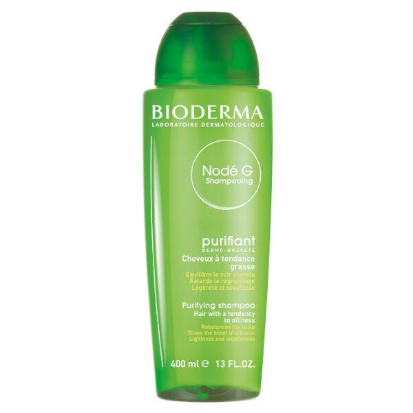 Bioderma Nodé G Shampooing Purifiant Cheveux Normaux à Gras 400ml