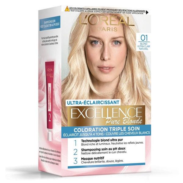 L'Oréal Paris L'Oréal Excellence Coloration Blond Ultra Clair Naturel 01