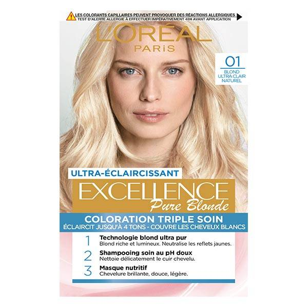 L'Oreal Paris L'Oréal Excellence Coloration Blond Ultra Clair Naturel 01