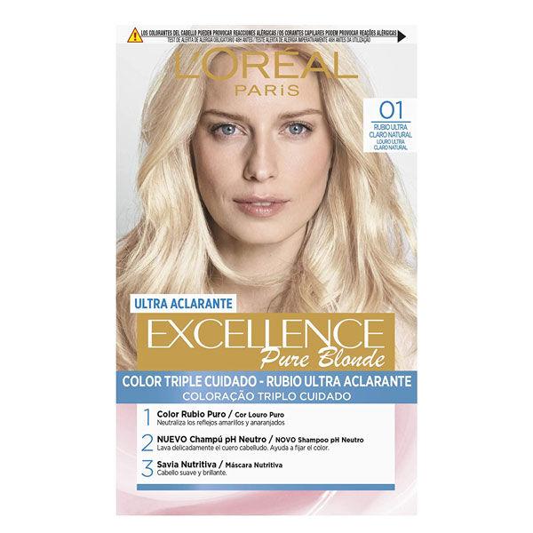 L'Oréal Excellence Coloration Blond Ultra Clair Naturel 01
