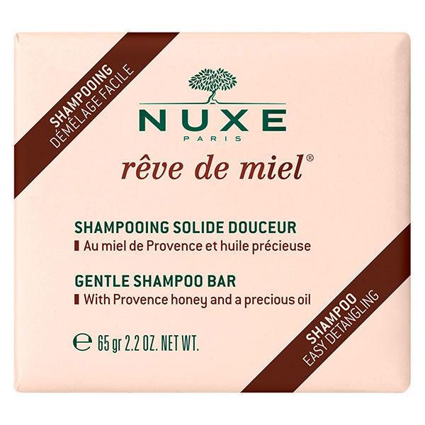 Nuxe Rêve de Miel Shampooing Solide Douceur 65g