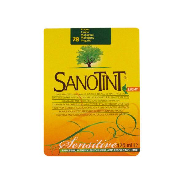 Sanotint Coloration Light Acajou 78 125ml