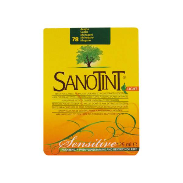 Sanotint Coloration Light Acajou 78 125ml