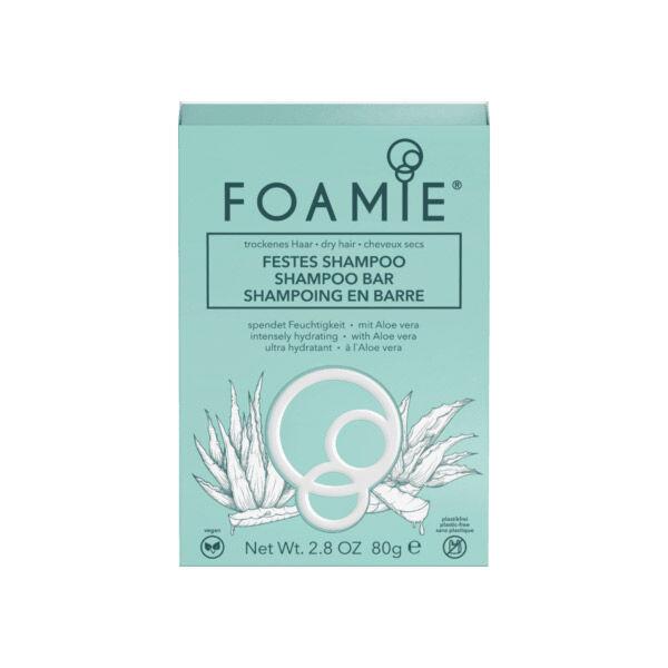 Foamie Shampoing Solide Aloe Vera 80g