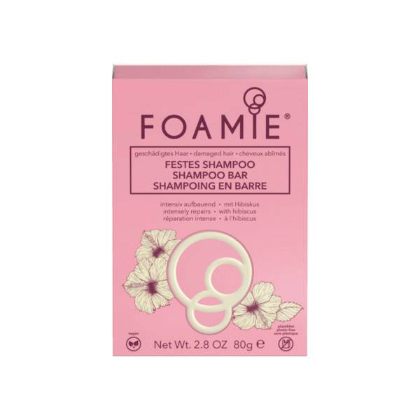 Astrodif Foamie Shampoing Solide Hibiscus 80g