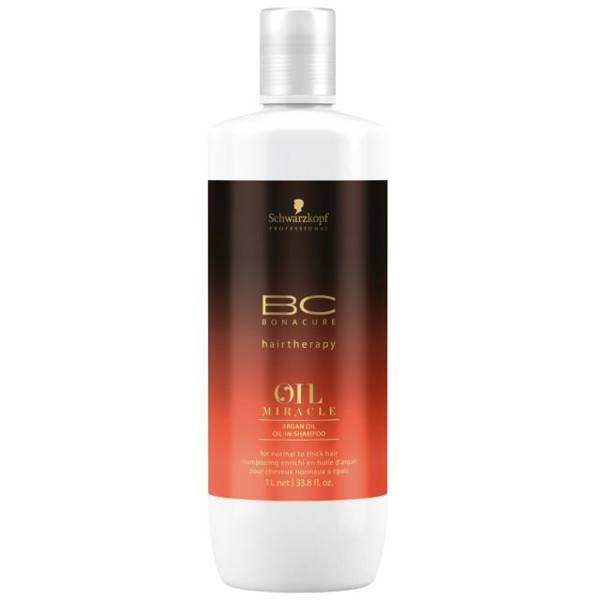 Schwarzkopf Professional BC Oil Miracle Argan Shampooing 1L