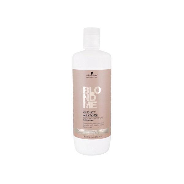 Schwarzkopf Professional BlondMe Keratin Restore Shampooing Rénovateur 1L