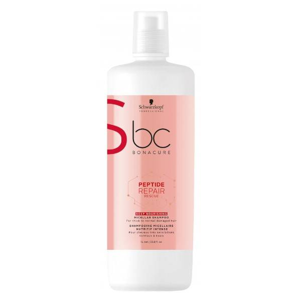 Schwarzkopf Professional BC Repair Rescue Shampooing Nutritif 1L