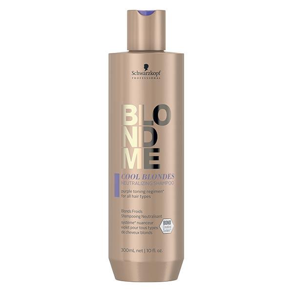 Schwarzkopf Professional BlondMe Cool Blondes Shampooing Neutralisant 300ml