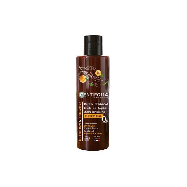 Centifolia Shampooing Crème Cheveux Secs Beurre d'Abricot et Huile de Jojoba Bio 200ml