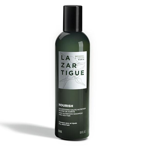 Lazartigue Nourish Shampooing Haute Nutrition Beurre de Karité Cheveux Secs et Épais 250ml