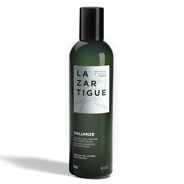 Lazartigue Volumize Shampooing Volume Protéines de Riz Cheveux Fins et Plats 250ml