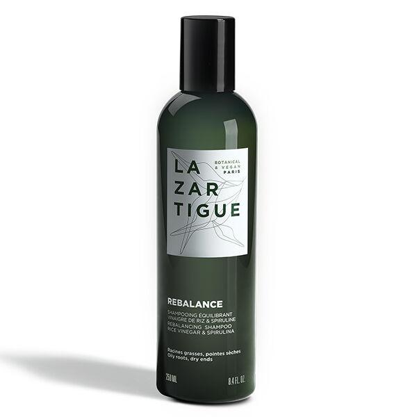 Lazartigue Rebalance Shampooing Équilibrant Racines Grasses Pointes Sèches 250ml