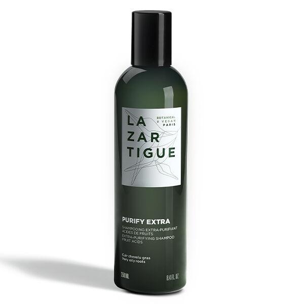 Lazartigue Purify Shampooing Extra-Purifiant aux Acides de Fruits Cuir Chevelu Gras 250ml