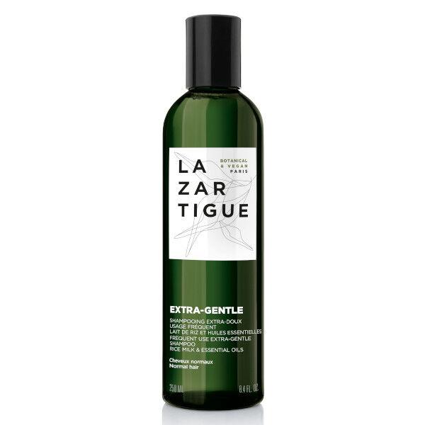 Lazartigue Extra-Gentle Shampooing Extra-Doux Lait de Riz et Huiles Essentielles 250ml