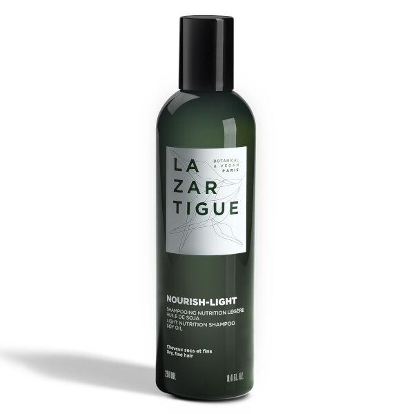 Lazartigue Nourish Shampooing Nutrition Ciblée au Lait de Soja Cheveux Secs et Fins 250ml