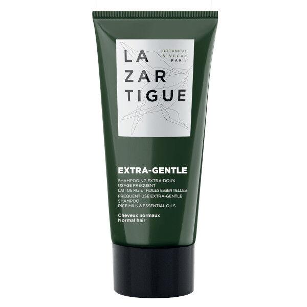Lazartigue Extra-Gentle Shampooing Extra-Doux Lait de Riz et Huiles Essentielles 50ml