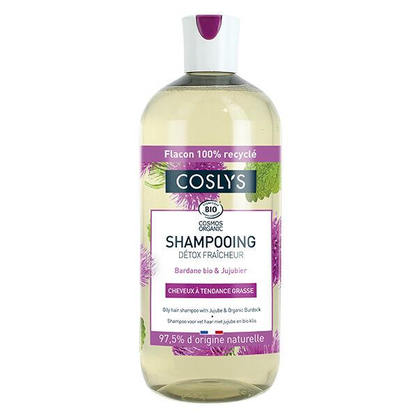 Coslys Shampooing Détox Fraîcheur Bio 500ml