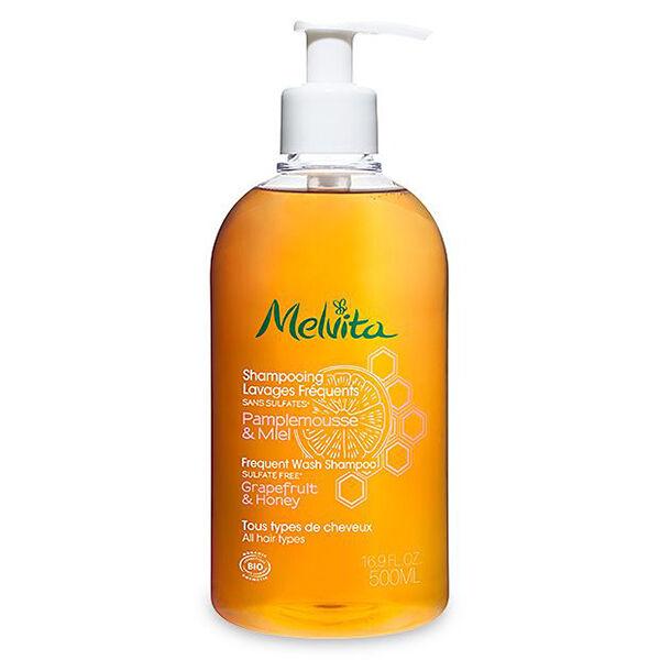 Melvita - Les Essentiels - Shampooing Lavages Fréquents 500ml