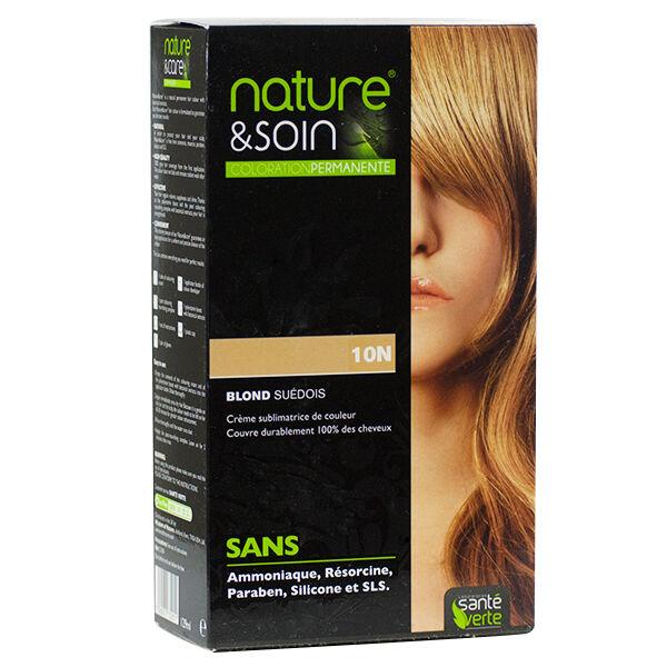 Santé Verte Nature & Soin Coloration Permanente Blond Suédois 10N