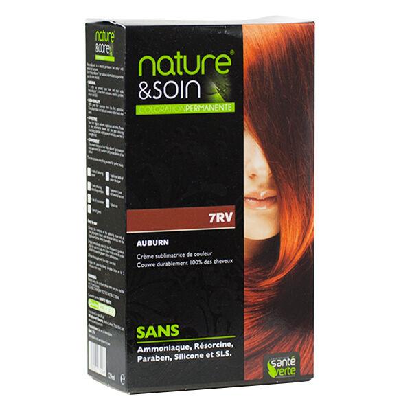 Santé Verte Nature & Soin Coloration Permanente Auburn 7RV