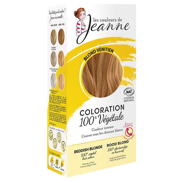 Les Couleurs de Jeanne Coloration Végétale Blond Vénitien 100g