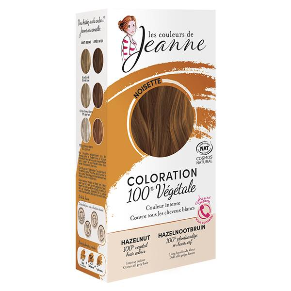 Les Couleurs de Jeanne Coloration Végétale Noisette Bio 100g