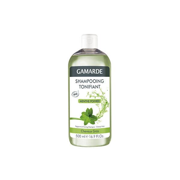 Gamarde Shampooing Tonifiant Menthe Poivrée 500ml