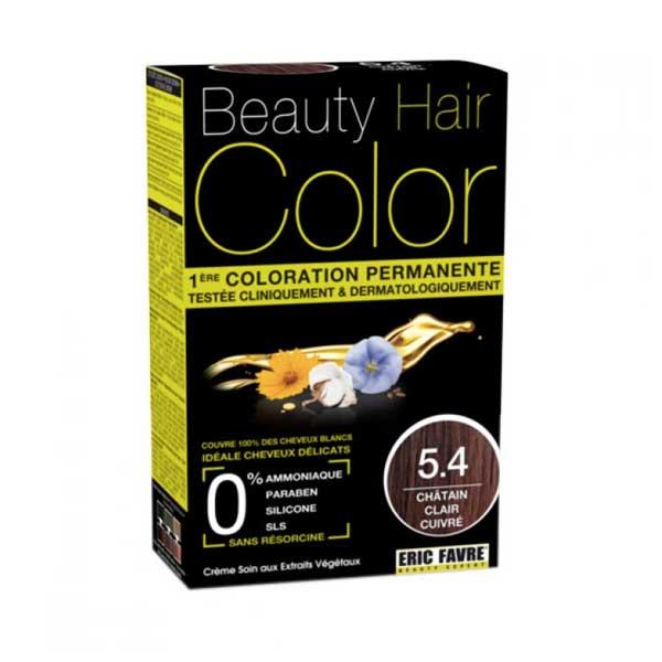 Beauty Hair Crème Color Châtain Clair Cuivré 5.4
