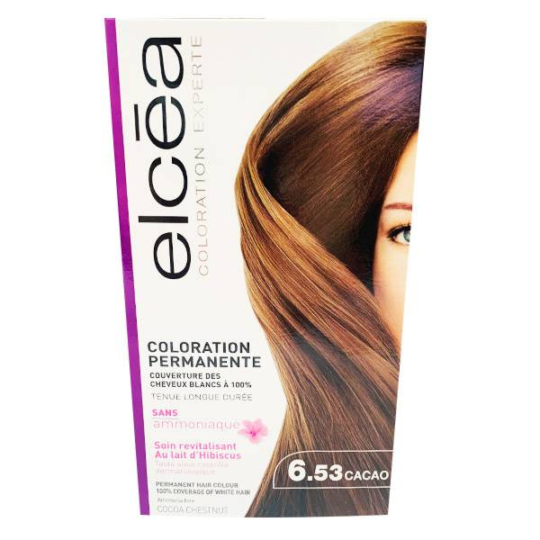 Elcea Coloration Permanente Cacao N6.53