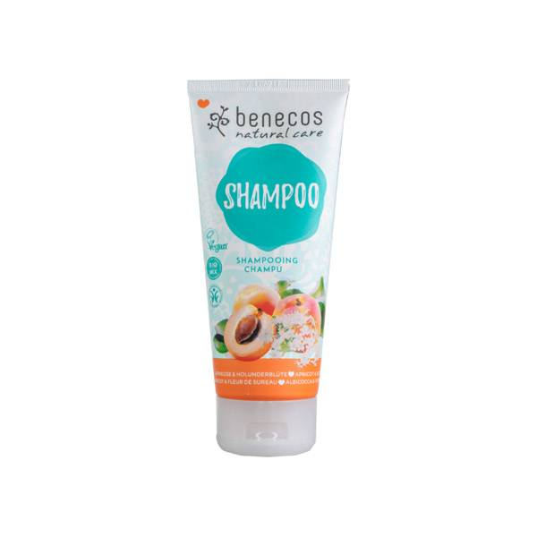 Benecos Shampooing Abricot & Fleur de Sureau 200ml