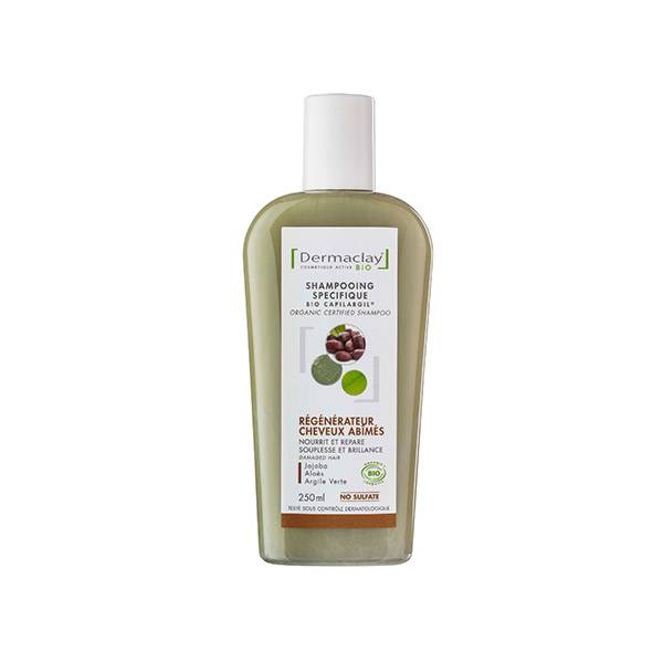 Dermaclay Shampooing Bio Régénérateur Cheveux Abimés 250ml
