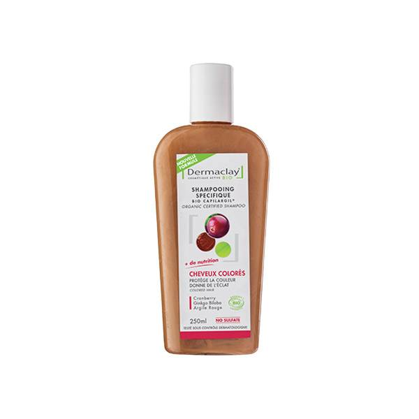 Dermaclay Shampooing Bio Cheveux Colorés 250ml