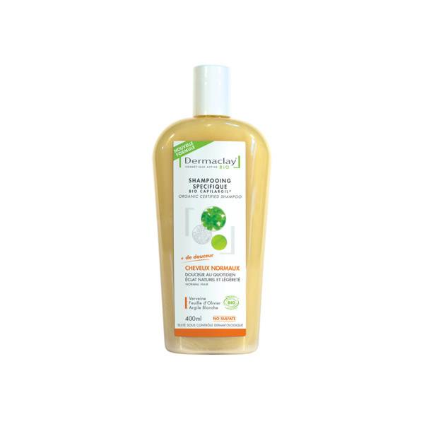 Dermaclay Shampooing Bio Capilargil Usage Fréquent Cheveux Normaux 400ml