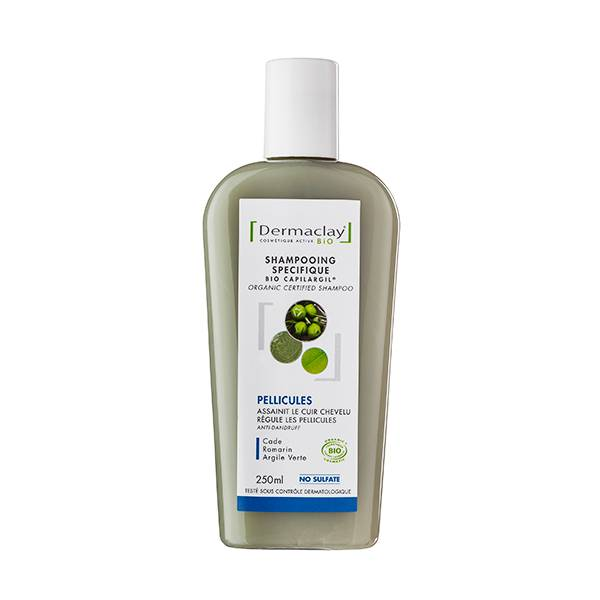Dermaclay Shampooing Bio Anti-Pelliculaire 250ml