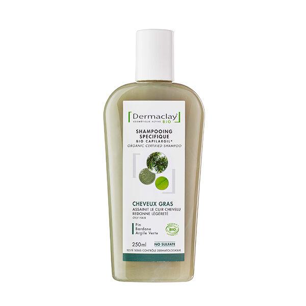 Dermaclay Shampooing Bio Cheveux Gras 250ml