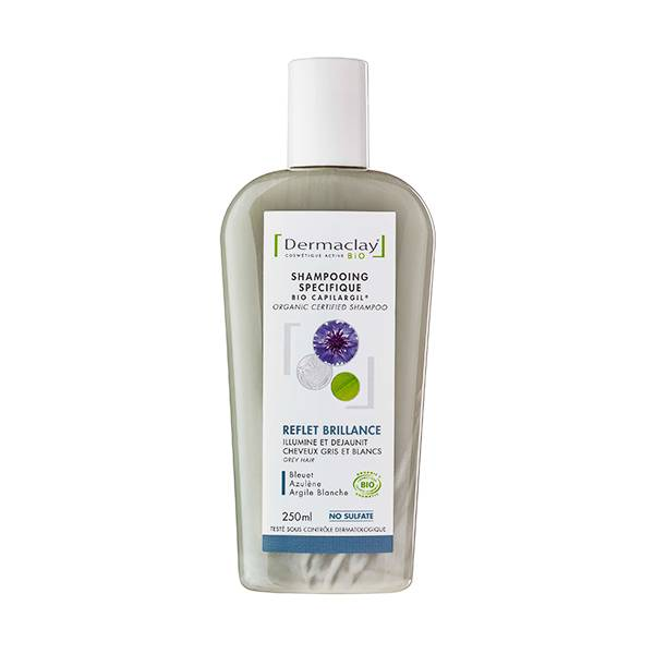 Dermaclay Shampooing Bio Reflets et Brillance 250ml