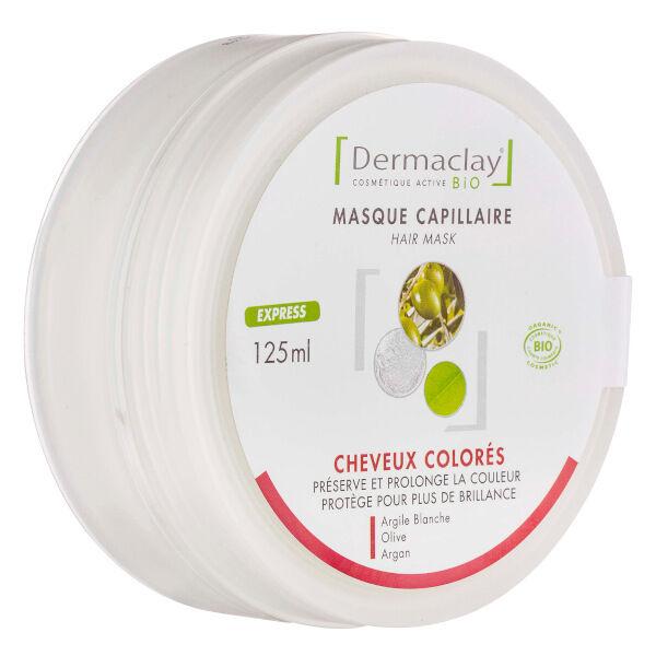 Dermaclay Masque Capillaire Cheveux Colorés 125ml