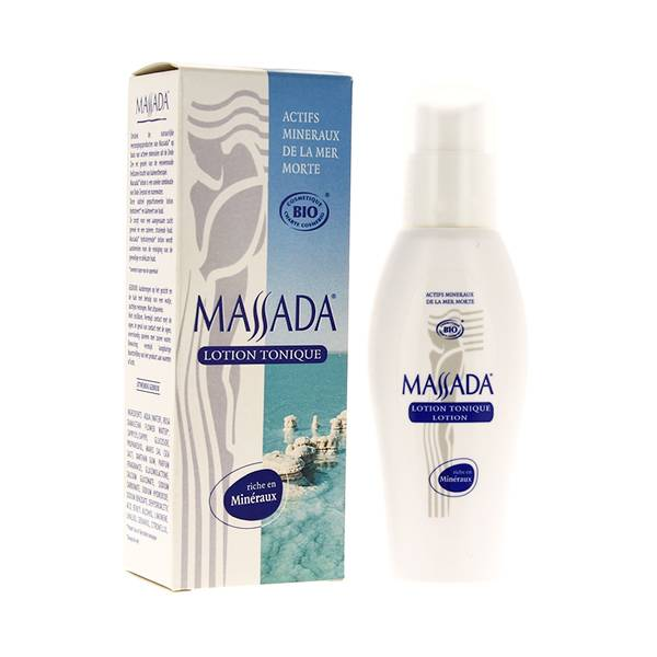 1963019 Massada Lotion Tonique Visage Bio 100ml