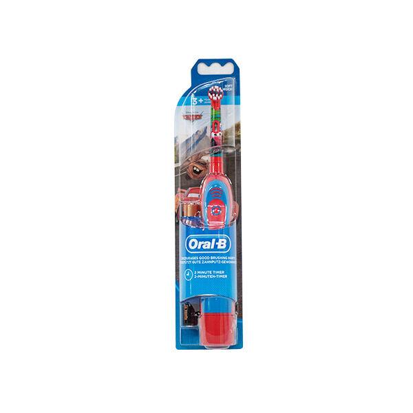 oral b brosse à dents cars à piles dés 3 ans