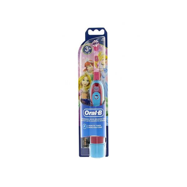 Oral B Brosse à Dents Princesses à Piles +3ans