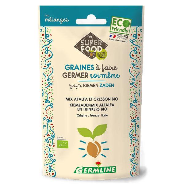 Germ'Line Germline Graines à Germer Alfalfa Cresson Bio 150g
