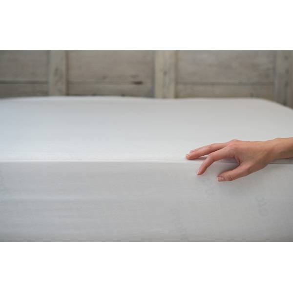 Bedding Industrial Beguda Drap Housse Blanc Anti-Acariens 120 x 200cm