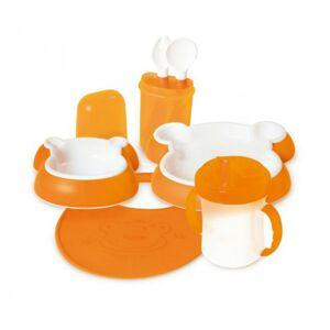 dBb Remond Ensemble Repas Ours Orange - Publicité