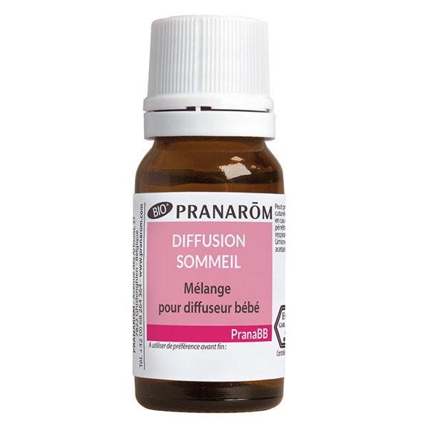 Pranarom PranaBb Mélange pour Diffusion Sommeil Bio 10ml