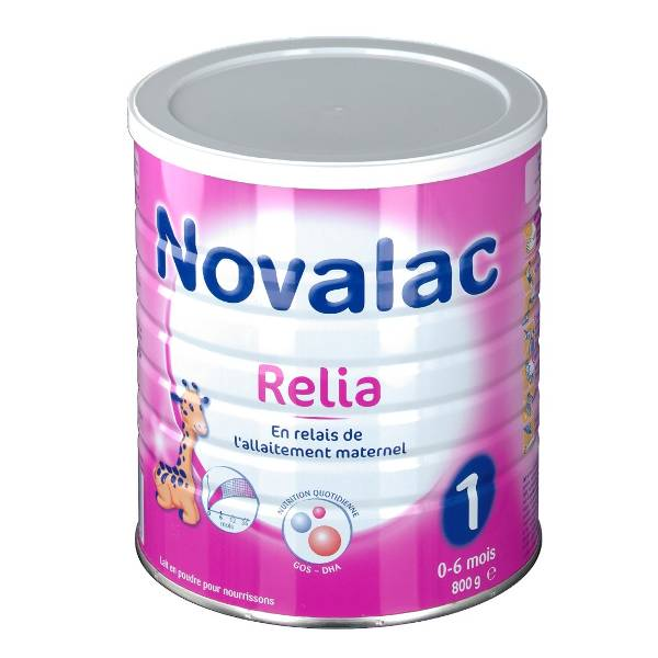 Novalac Lait Relia 1 800g