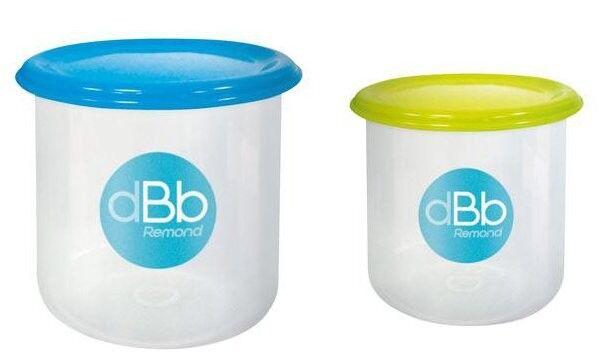 dBb Remond Set Pots de Congélation x 2